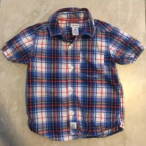 Boys Carter's short sleeve